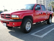 Used Orange County 2001 DODGE DAKOTA SPORT QUAD CAB 4X4