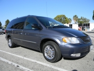 Used Orange County 2002 Chrysler Town & Country Limited