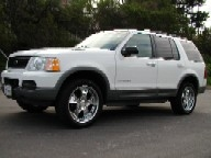 Used Orange County 2002 FORD EXPLORER XLT 4 DOOR