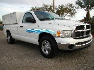 Used Orange County 2003 Dodge Ram 2500 HEMI Work Truck With TOMMYLIFT & BOXES