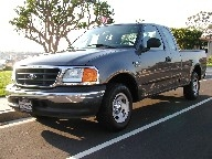Used Orange County 2004 FORD F-150 SUPER CAB PICKUP TRUCK