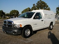 Used Orange County 2005 DODGE RAM 1500 LONG BED WORK TRUCK AND SHELL PUMP SPRAYER