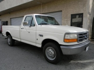 Used Orange County 1996 Ford F150 Long Bed Pickup Truck FFV CNG & GAS