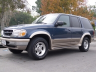 Used Orange County 1998 Ford Explorer Eddie Bauer All Wheel Drive