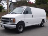 Used Orange County 2001 Chevrolet Express 3500 Cargo 1 TON