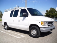 Used Orange County 2001 Ford E150 Econoline Cargo Van
