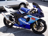 Used Orange County 2004 SUZUKI GSXR 750