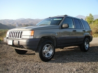 Used Orange County 1996 JEEP GRAND CHEROKEE LAREDO