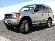 Used Orange County 1997 MITSUBISHI MONTERO LS 4X4